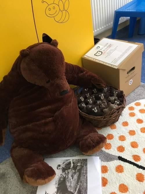 """26.11.19 """"Dzień Pluszowego Misia"""", warsztaty w Miejskim Przedszkolu nr 19 w Siemianowicach / """"Day of the Teddy Bear"""", worhops in Siemianowice"""
