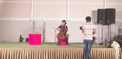 Warsztaty muzyki i tańca / Dance and music section
