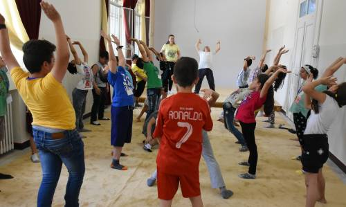 Warszaty teatralne / Theater workshops