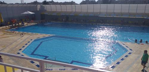 Dzięki Waszemu wsparciu pomogliśmy zbudować basen / Thanks to the donors we helped to built swimming pool in FCC