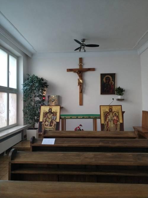 Gotowe ikony Magda zawiozła do Łodzi / The icons were fistly delivered to Łodz