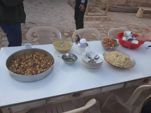 Nikt nie wyjedzie głodny z Mar Musa / Everyone would be full after visiting Mar Mousa