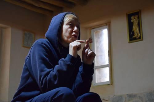Sisotra Huda - przełożona klasztoru / Sister Houda - superior of the monastery