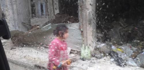 We wschodnim Aleppo mieszka ok. 3 tyś. potomków rebeliantów, nie mają przyszłości, tożsamości - to z myślą o nich i ich matkach powstał projekt N&F / In East Aleppo there is around 3000 kids of the rebels. They have no future and no identity. For the puropose of help to those kids and their mothers FCC created N&F project