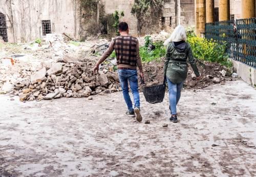 Razem odbudujemy nasze kochane Aleppo! / Together we shall rebuilt our beloved city!
