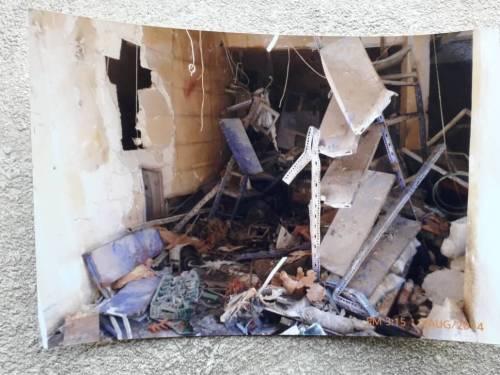 Kolejny projekt to romont skelpiku i piekarni Pani Liny, który został zniszczony podczas wojny / Next project is rennovation of destroyed shop-bakery of ms Lina