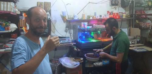 Najlepsza kawa w Aleppo? Tylko u Uanessa / Best coffe in Aleppo is by Uaness