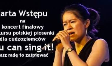 "Koncert finałowy ""You Can Sing It!"""