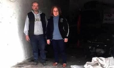 Pomagamy Linie z Aleppo odbudować sklep