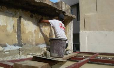 Summary of the apartment's restorations in Beirut - December 2020