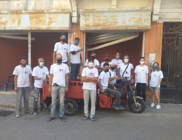 Podsumowanie pierwszej fazy działań pomocowych w Bejrucie - remonty mieszkań