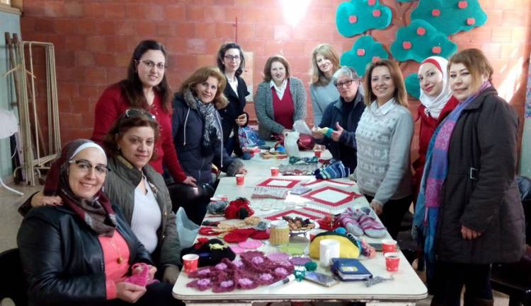 Give a job! - the tailor's Atelier at the Franciscan Sisters Missionaries in Aleppo