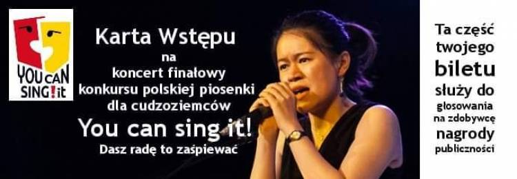 You Can Sing It! 4th  edition in 2019