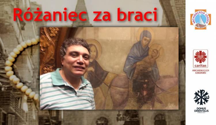 Różaniec za braci w kwietniu: list i rozważanie Markosa z Egiptu