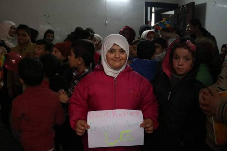 Again we supported dr Binan's Centre in Aleppo